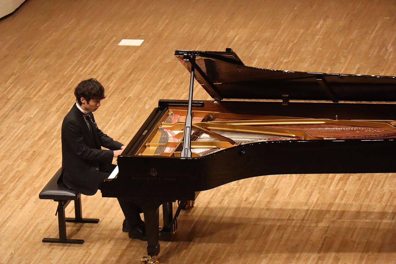 第5回学内演奏会 ―ピアノコース―演奏風景6