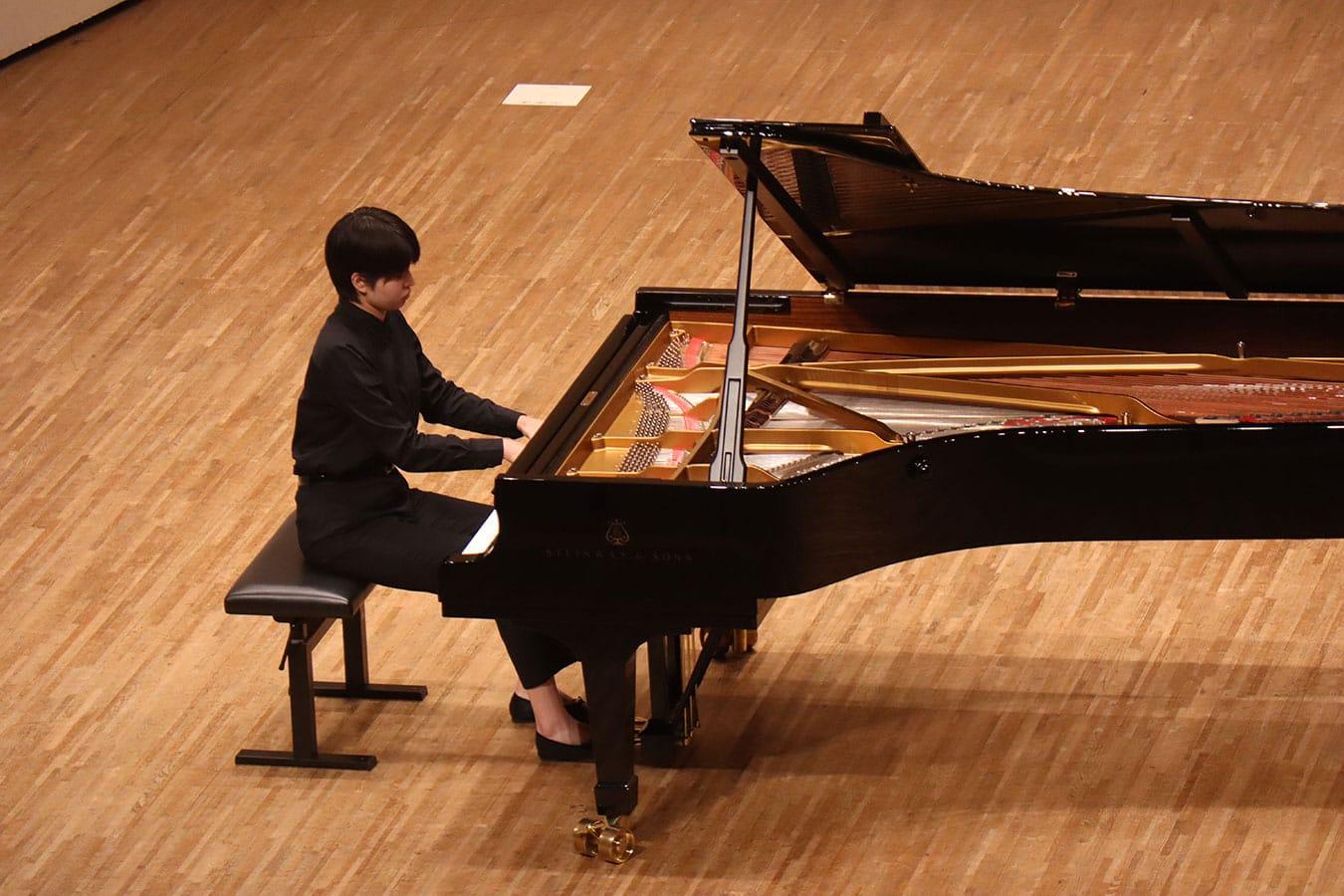第5回学内演奏会 ―ピアノコース―演奏風景7