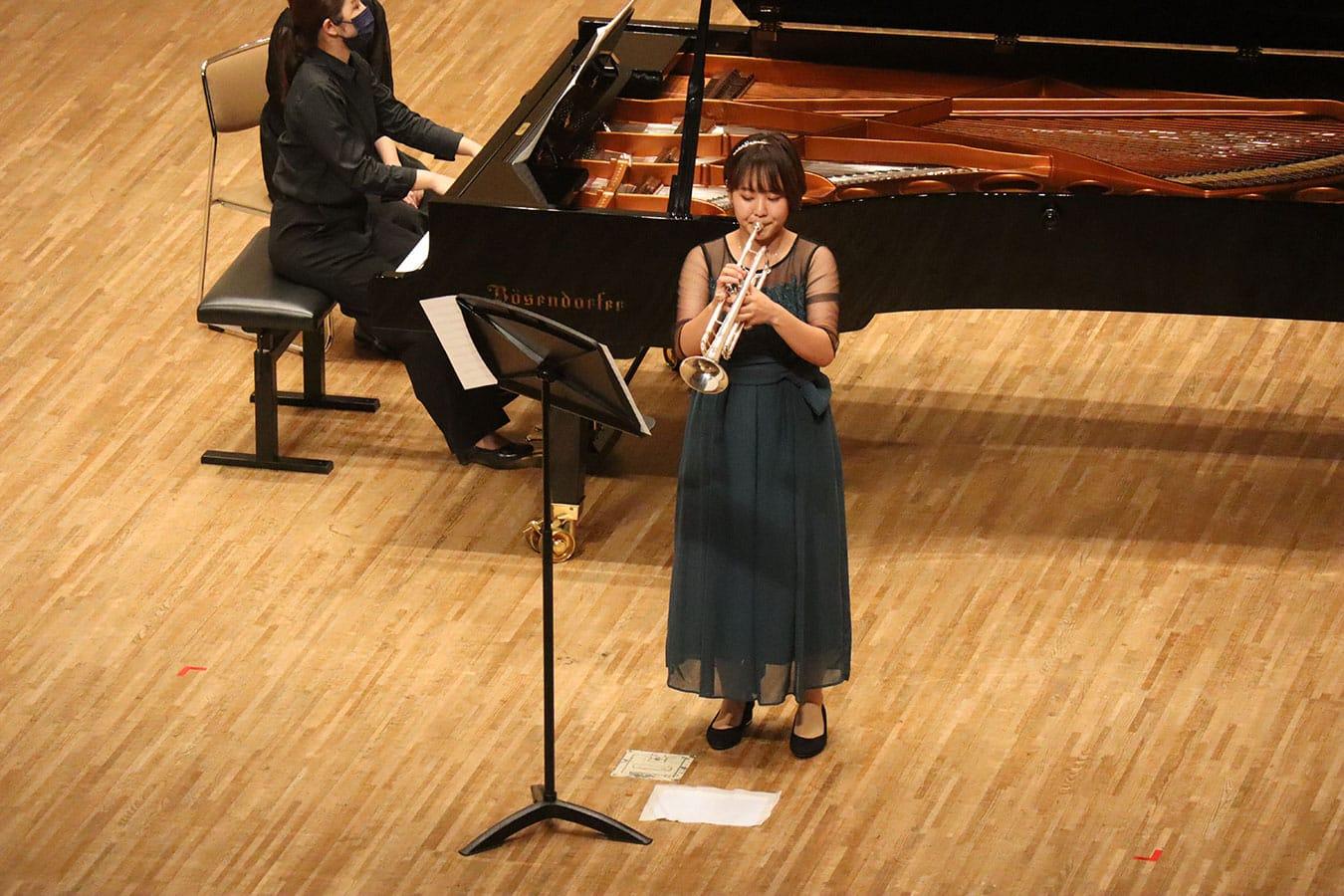 第6回学内演奏会 ―管打楽コース―演奏風景4