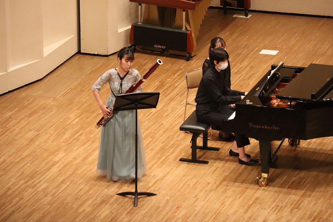 第6回学内演奏会 ―管打楽コース―演奏風景6