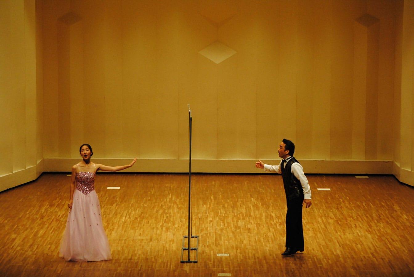 第14回学内演奏会 ―4年次オペラアンサンブル―演奏風景1