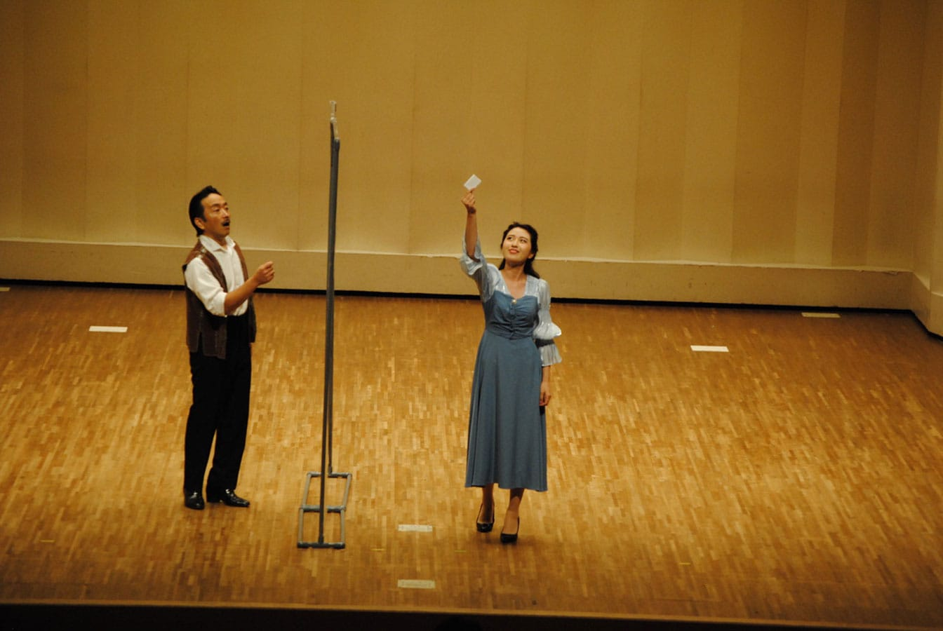第14回学内演奏会 ―4年次オペラアンサンブル―演奏風景6