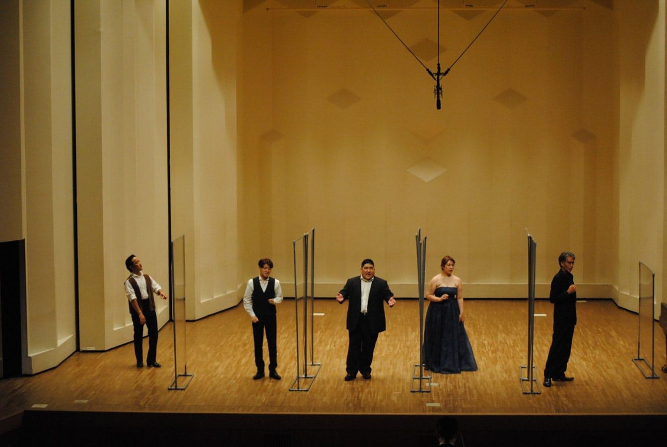 第14回学内演奏会 ―4年次オペラアンサンブル―演奏風景7