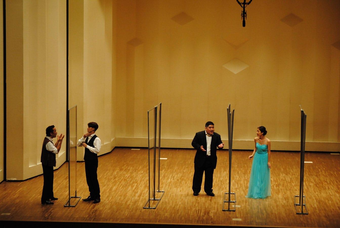 第14回学内演奏会 ―4年次オペラアンサンブル―演奏風景8